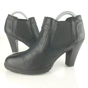 BOC Born Chelsea Pull On Heel Ankle Boots